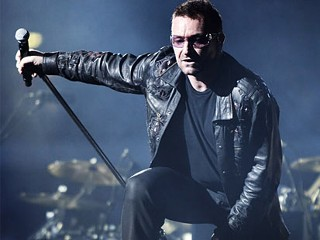 U2's Bono enjoys La Motte wines
