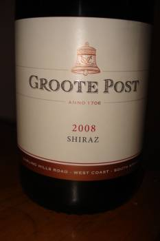Groote Post Shiraz 2008