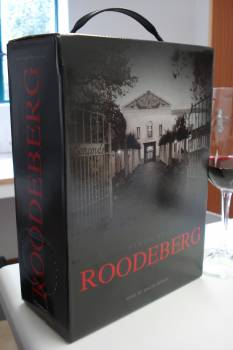 Topical pic – KWV Roodeberg 2009 bag-in-box