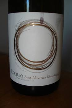 Sequillo Private Bin Syrah Mourvedre Grenache 2008