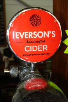 Topical pic –Everson's Cider at Tokai's EarthFair Food Market