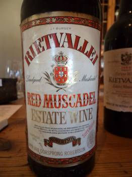 Rietvallei Red Muscadel 1979
