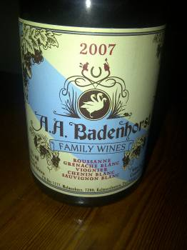 A.A. Badenhorst Family Wines White 2007