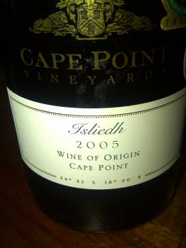 Cape Point Vineyards Isliedh 2005
