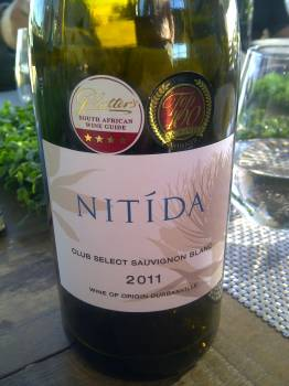 Nitida Club Select Sauvignon Blanc 2011