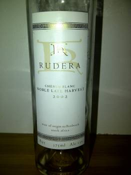 Rudera Noble Late Harvest 2002