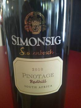 Absa Top 10 Pinotage competition 2012 winners