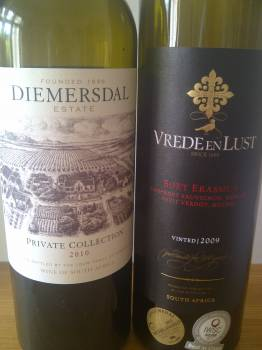 Diemersdal Private Collection 2010 vs. Vrede en Lust Boet Erasmus 2009