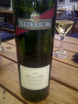 Nederburg Private Bin Sauvignon Blanc 2007