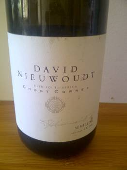 David Nieuwoudt Ghost Corner Semillon 2008