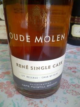 Oude Molen René Single Cask Limited Release Potstill Brandy