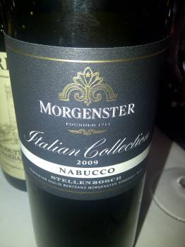 Morgenster Italian Collection Nabucco 2009