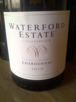 Waterford Chardonnay 2010