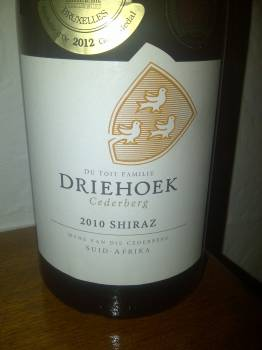 Driehoek Shiraz 2010