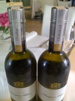 KWV The Mentors Sauvignon Blanc 2012 – Darling vs. Stellenbosch