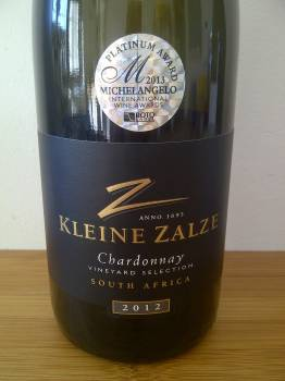 Kleine Zalze Vineyard Selection Chardonnay 2012