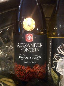 Alexanderfontein Chip Off the Old Block Sauvignon Blanc 2013