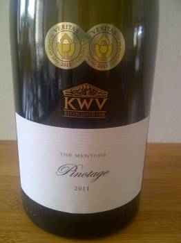 KWV The Mentors Pinotage 2011