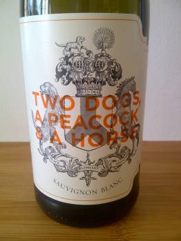 Two Dogs, a Peacock & a Horse Sauvignon Blanc 2013