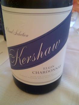 Kershaw Clonal Selection Elgin Chardonnay 2012