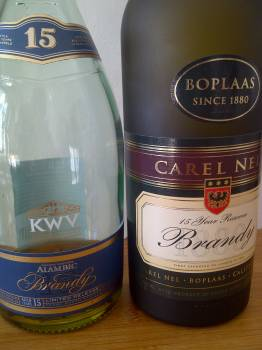 Boplaas Carel Nel 15 Years Reserve vs KWV 15 Year Old Alambic