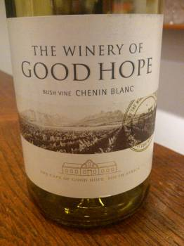 The Winery of Good Hope Bush Vine Chenin Blanc 2013