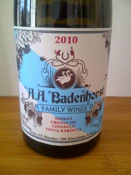 A. A. Badenhorst Family Wines Red 2010