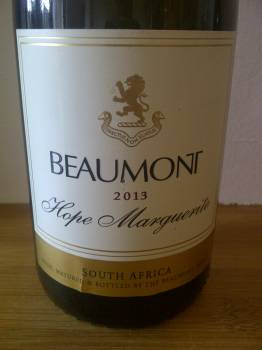 Beaumont Hope Marguerite Chenin Blanc 2013