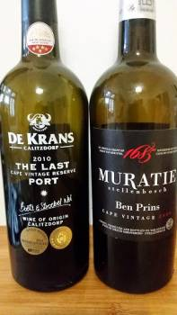 De Krans The Last Cape Vintage Reserve Port 2010 vs Muratie Ben Prins Cape Vintage 2009