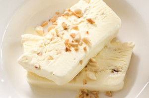 Recipe: Honey and almond Ice-cream