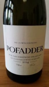 The Old Vine Series Pofadder 2014