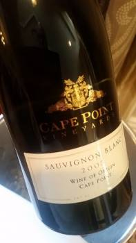 Cape Point Vineyards Sauvignon Blanc 2005