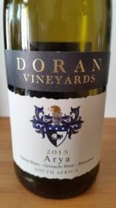 Doran Vineyards Arya 2015