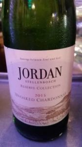 Jordan Reserve Collection Unoaked Chardonnay 2015