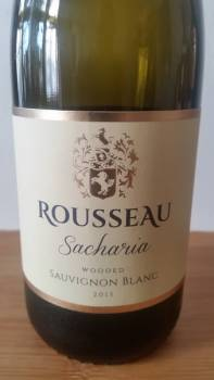 Rousseau Sacharia Wooded Sauvignon Blanc 2015