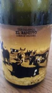 Testalonga El Bandito Lords of Dogtown Chenin Blanc 2015