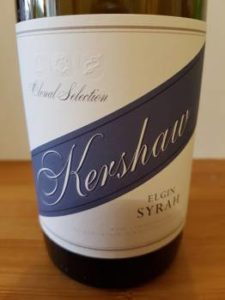 Richard Kershaw Elgin Syrah 2013