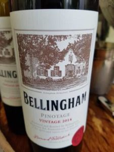 Bellingham Homestead Pinotage 2014