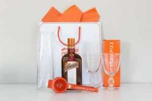 Cointreau cocktail kit.