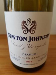 Newton Johnson Family Vineyards Granum 2014
