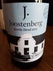 Joostenberg Family Blend Red 2015