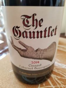 Vergelegen The Gauntlet Cabernet Sauvignon Cinsaut 2014