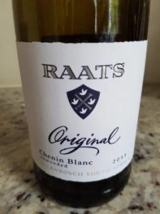 Raats Original Unwooded Chenin Blanc 2015