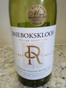 Rhebokskloof Cellar Selection Bosstok Chenin Blanc 2015