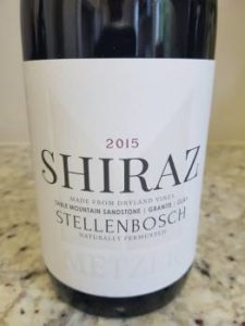 Metzer Family Shiraz 2015
