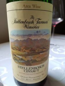 The Stellenbosch Farmers Wineries Stellenbosch Cinsaut 1974