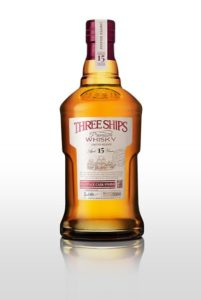 Three Ships Pinotage Cask Finish Whisky.