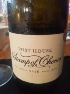 Post House Stamp of Chenin 2016