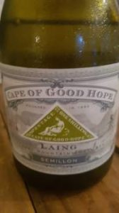 Cape of Good Hope Lang Semillon 2014