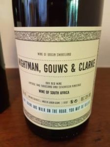 Wightman, Gouws & Clarke Dry Red 2017